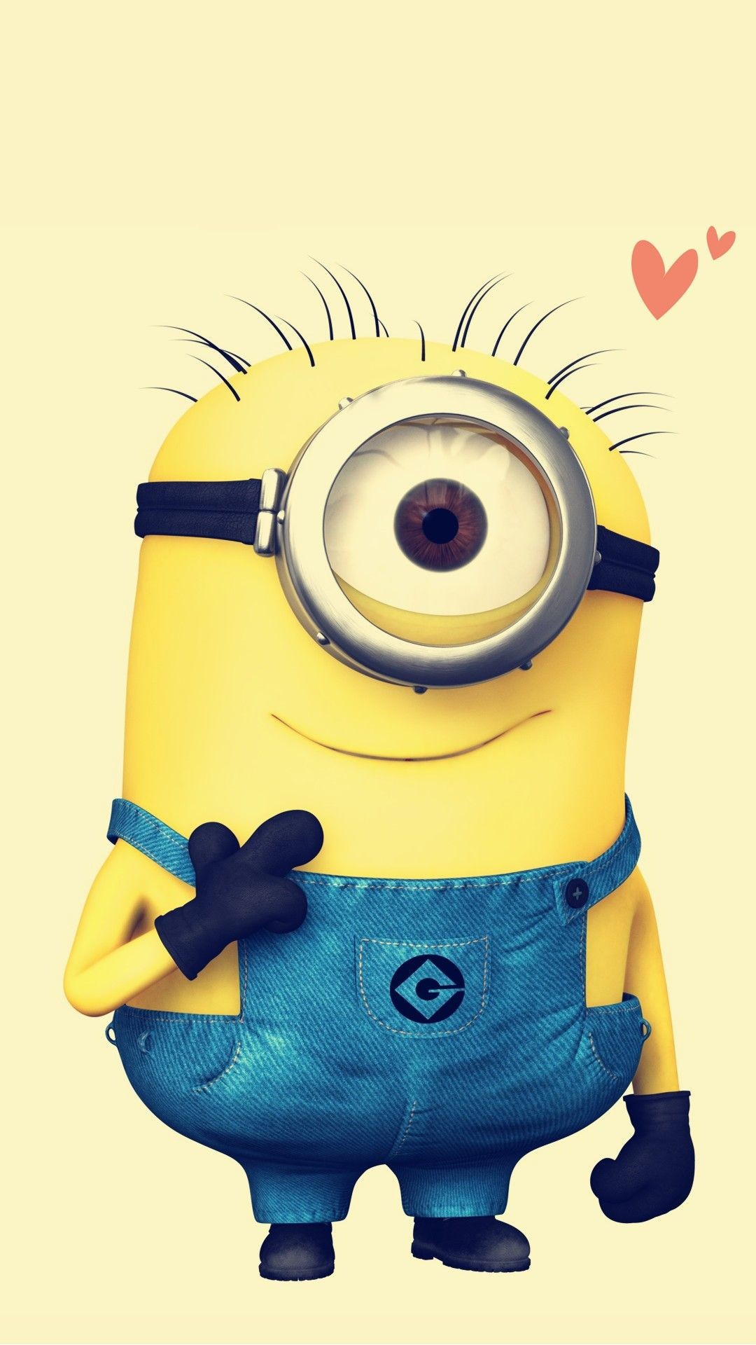 1080x1920, 2014 Halloween Despicable Me Minion Apple - Minion Giving Middle Finger - HD Wallpaper