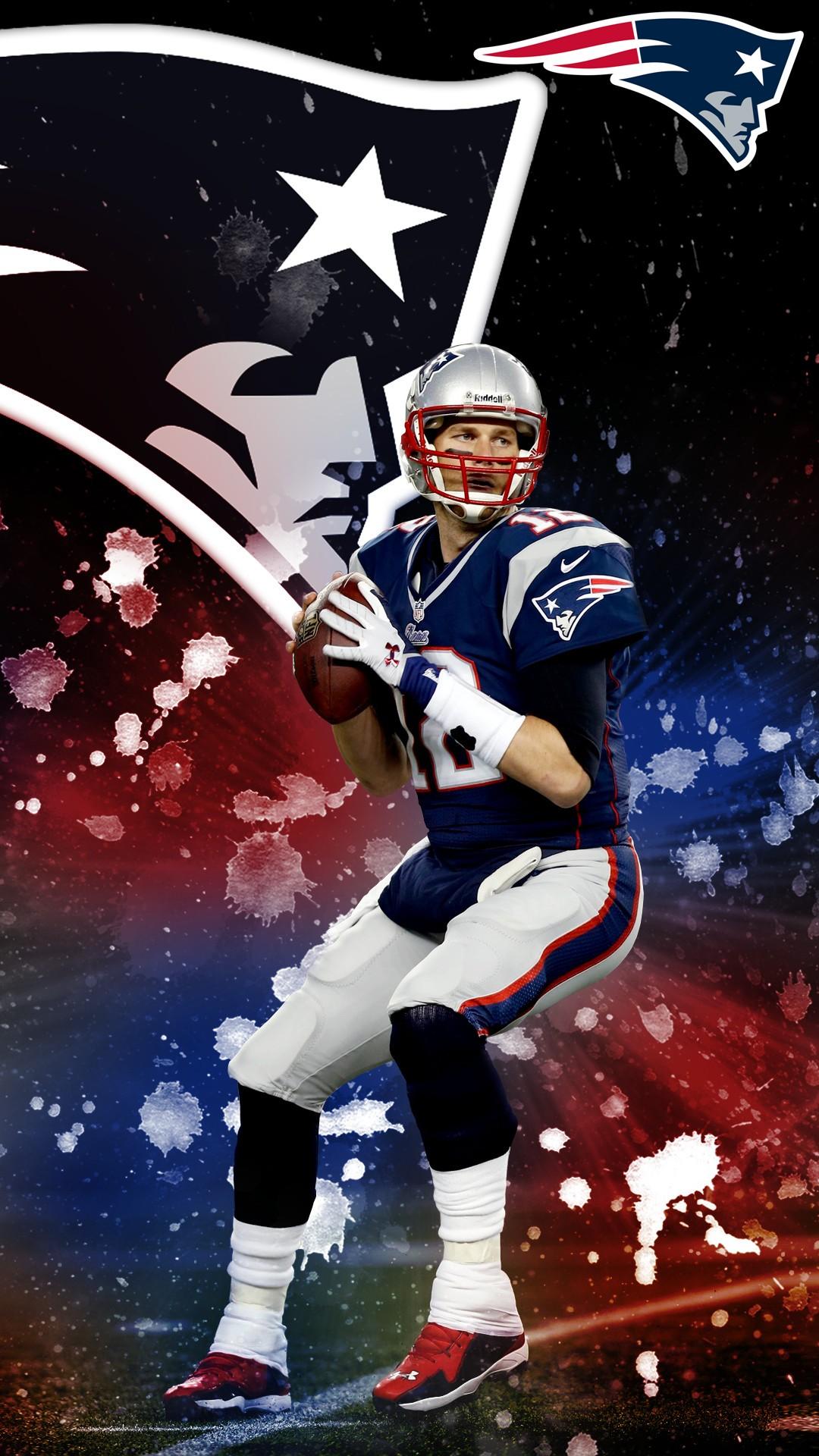 Tom Brady Iphone 7 Plus Wallpaper With Resolution Pixel - New England Patriots - HD Wallpaper