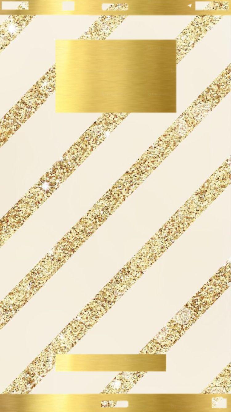 Lock Screen Gold Wallpaper Iphone - HD Wallpaper