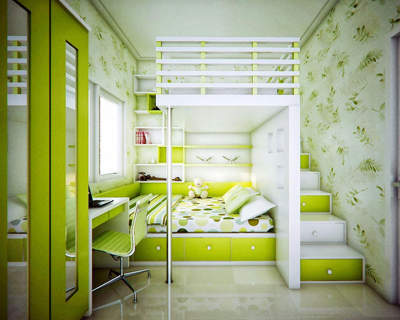Modern Small Green Bedroom 1280x1024 Wallpaper Teahub Io