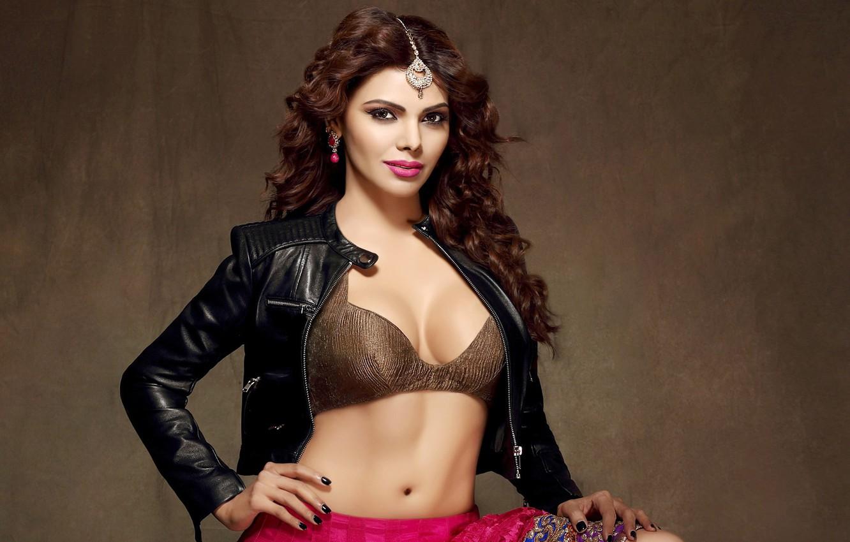 Photo Wallpaper Girl, Hot, Beautiful, Sexy, Brunette, - Hot Indian Beautiful Model Sexy - HD Wallpaper