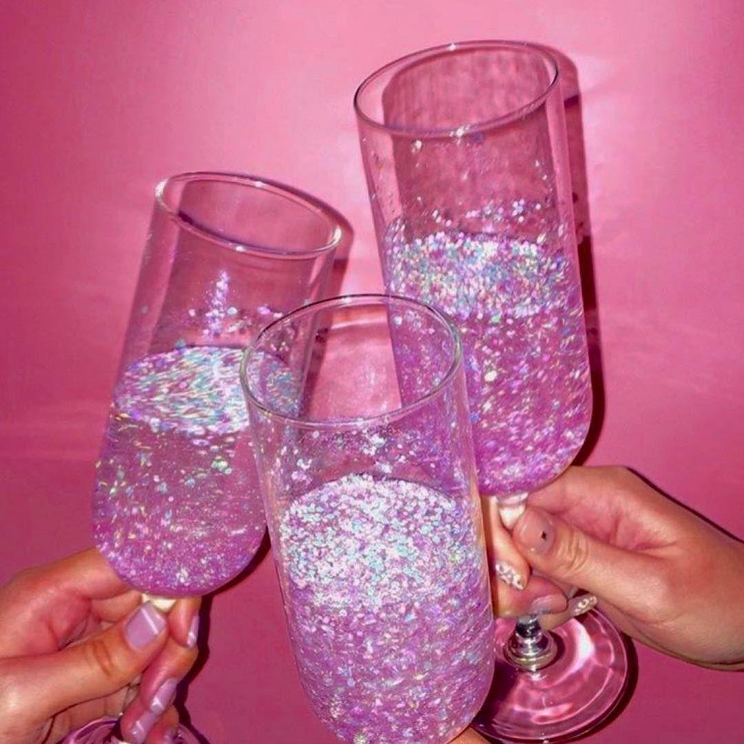 Pink Glitter Aesthetic - 1080x1080 Wallpaper - teahub.io