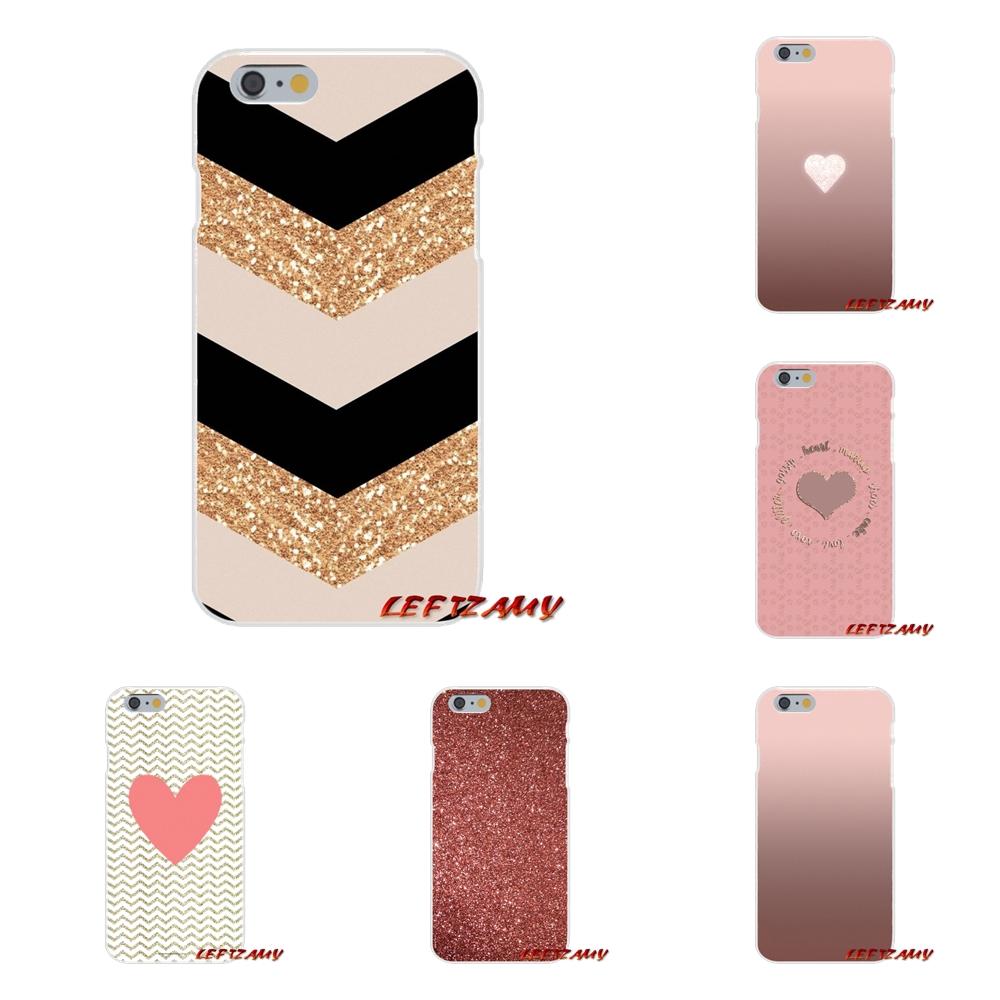 Rose Gold Glitter Iphone Wallpaper Iphone - HD Wallpaper