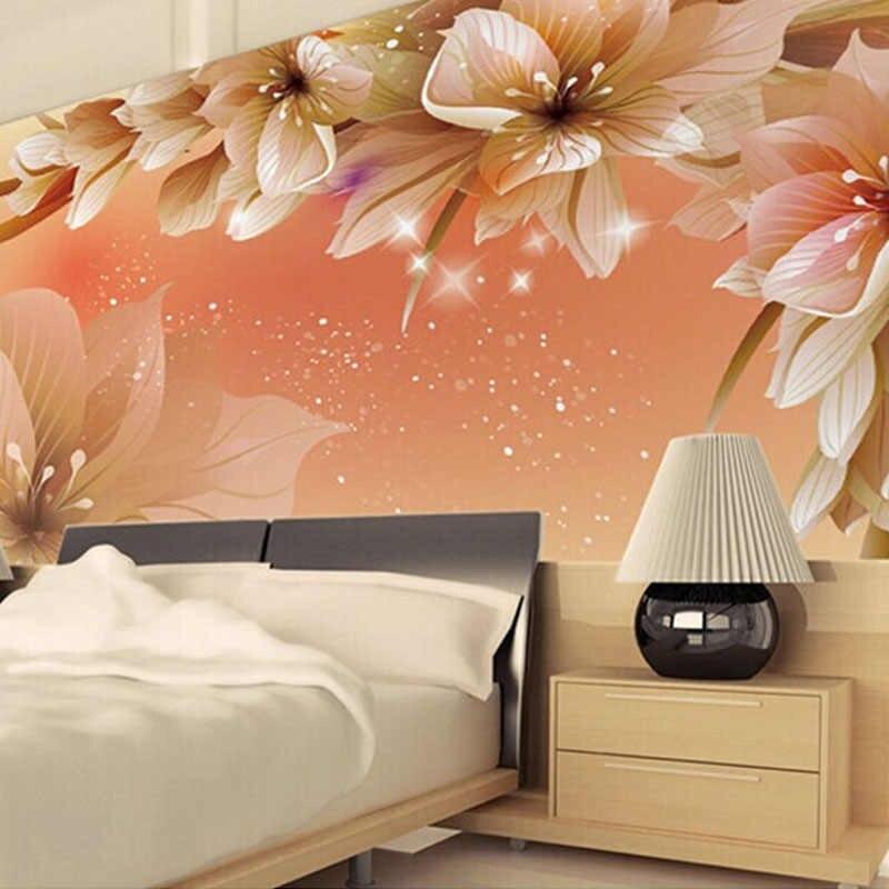 Modern Fashion Wall Mural Floral Photo Glitter Wallpaper 3d Wallpaper Design For Kitchen 800x800 Wallpaper Teahub Io