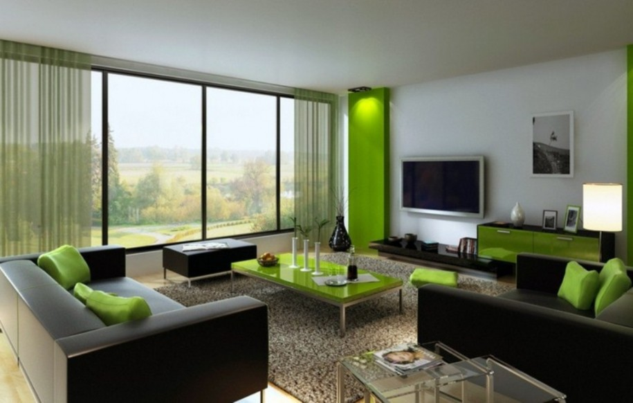 Green And Black Living Room 3 Hd Wallpaper Black And Green Living Room Decor 915x582 Wallpaper Teahub Io