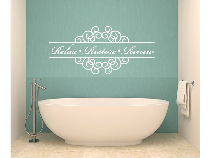 Modern Bathroom Decal Wall For Are Hot Wallpaper Warehouse - White Bathroom Wall Stickers - HD Wallpaper