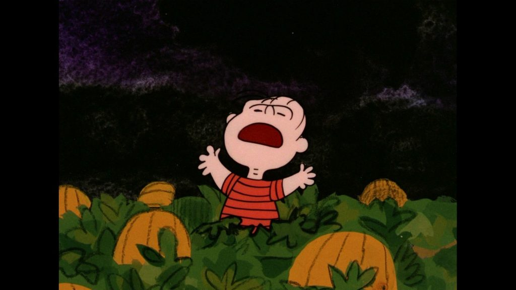 Great Pumpkin Charlie Brown Wallpaper Download Great - Linus The Great Pumpkin Charlie Brown - HD Wallpaper