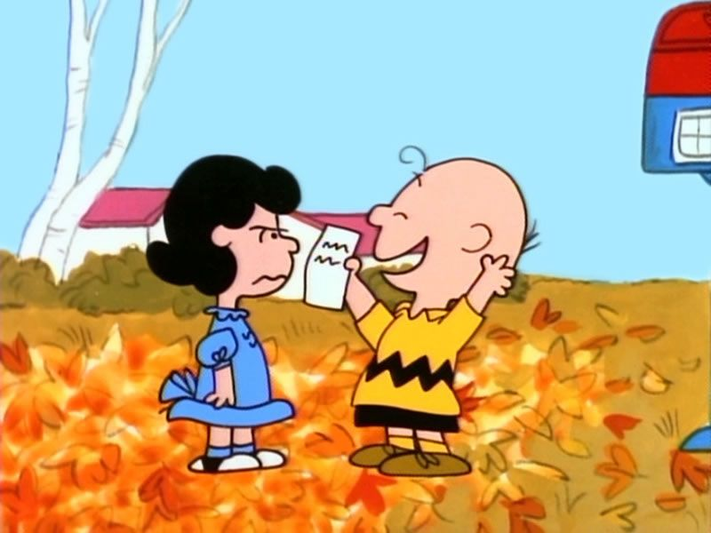 Lucy It's The Great Pumpkin Charlie Brown - HD Wallpaper