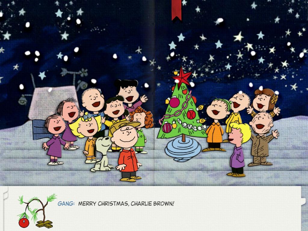 6foraw-1024x768 - Animated Merry Christmas Charlie Brown - HD Wallpaper