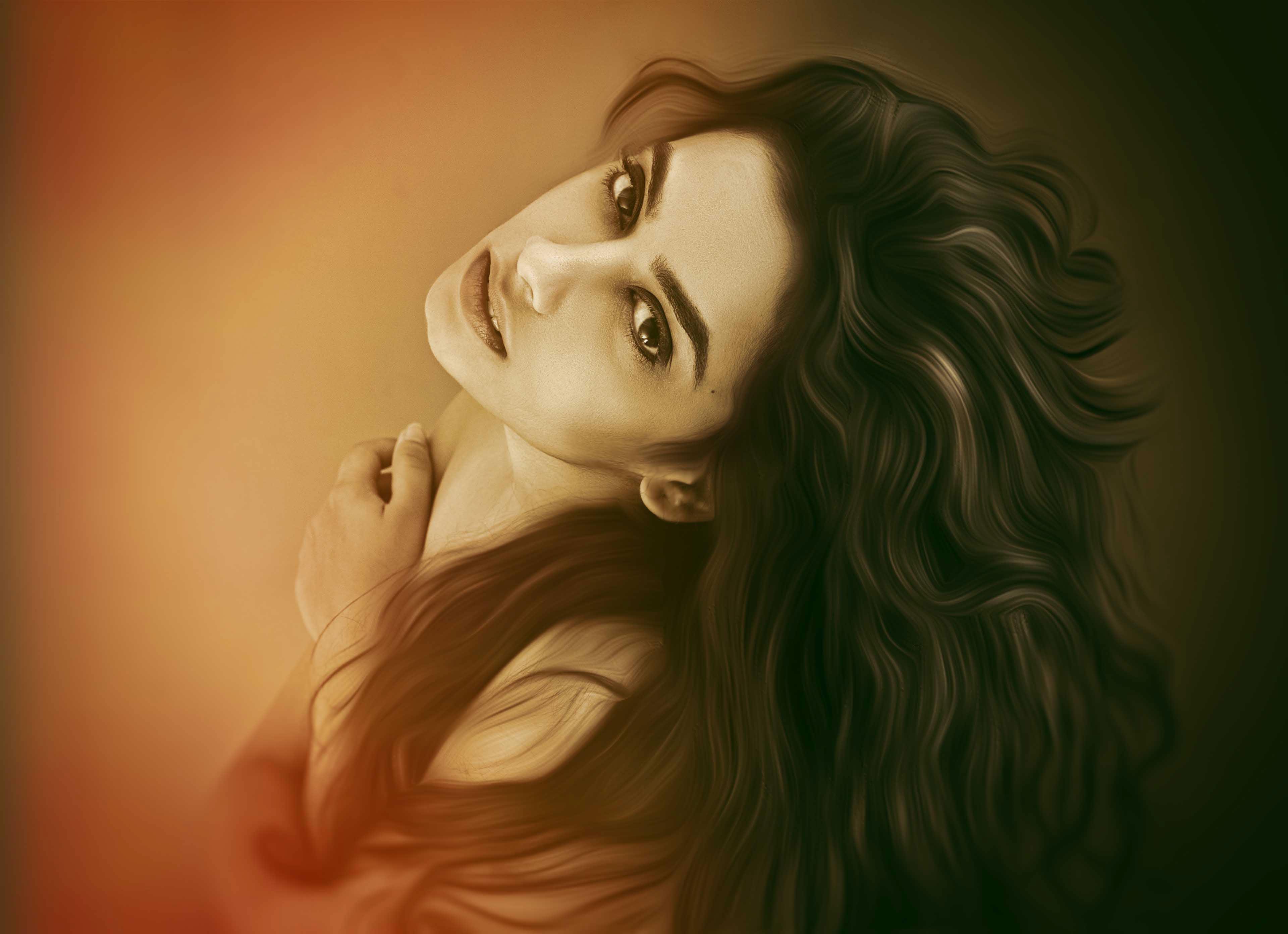 Beautiful Girl Wallpaper Hd 4k - HD Wallpaper