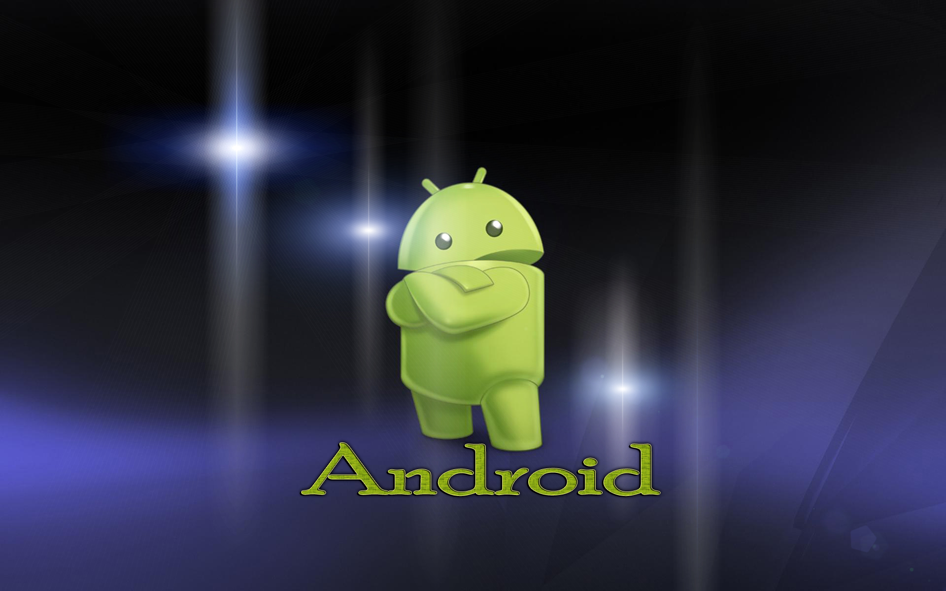 Wallpaper Cool Android Logo