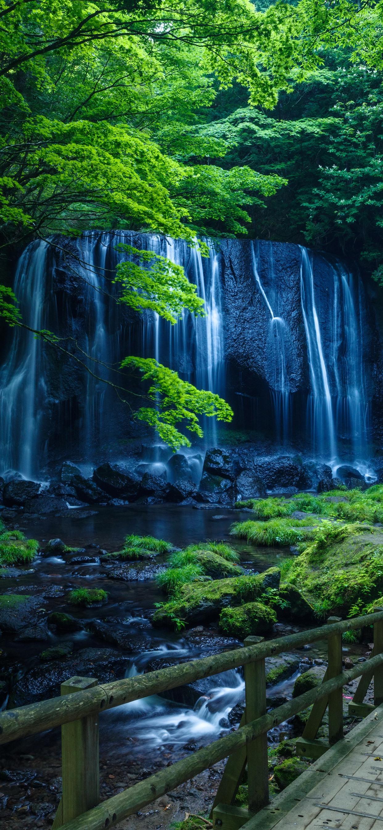 Waterfall Wallpaper Iphone Xs Max 1242x2688 Wallpaper Teahub Io