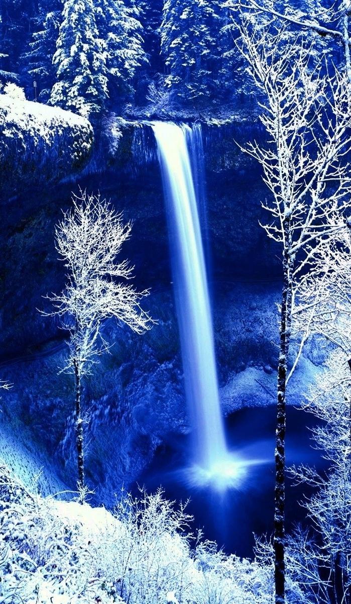 3d Blue Waterfall Wallpaper Iphone Resolution Iphone Water Fall Wallpaper Hd 699x1200 Wallpaper Teahub Io
