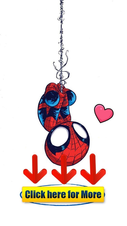 Little Spiderman Cartoon - HD Wallpaper