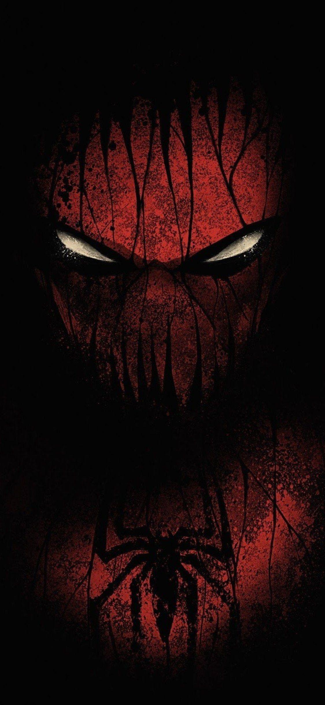 Red Black Spiderman Iphone Xs Iphone 10 Iphone X Hd 1125x2436 Wallpaper Teahub Io