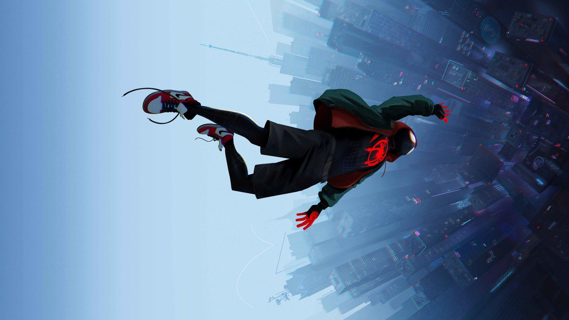 Spiderman Into The Spider Verse - HD Wallpaper