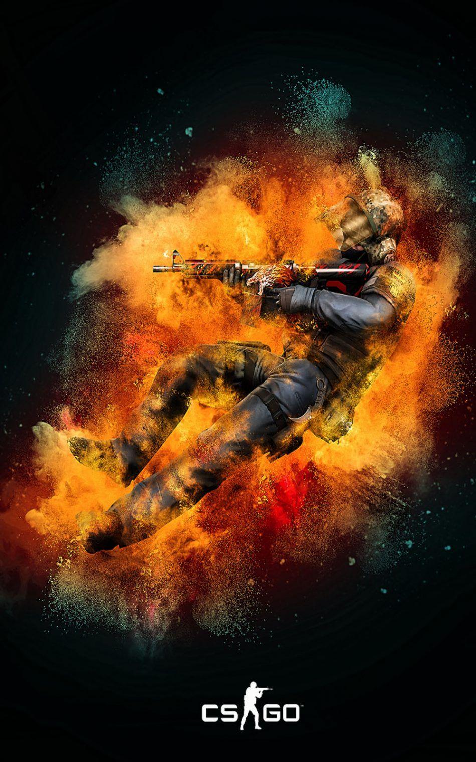 Download Counter Strike Global Offensive Free Pure - Cs Go Wallpaper 4k Phone - HD Wallpaper
