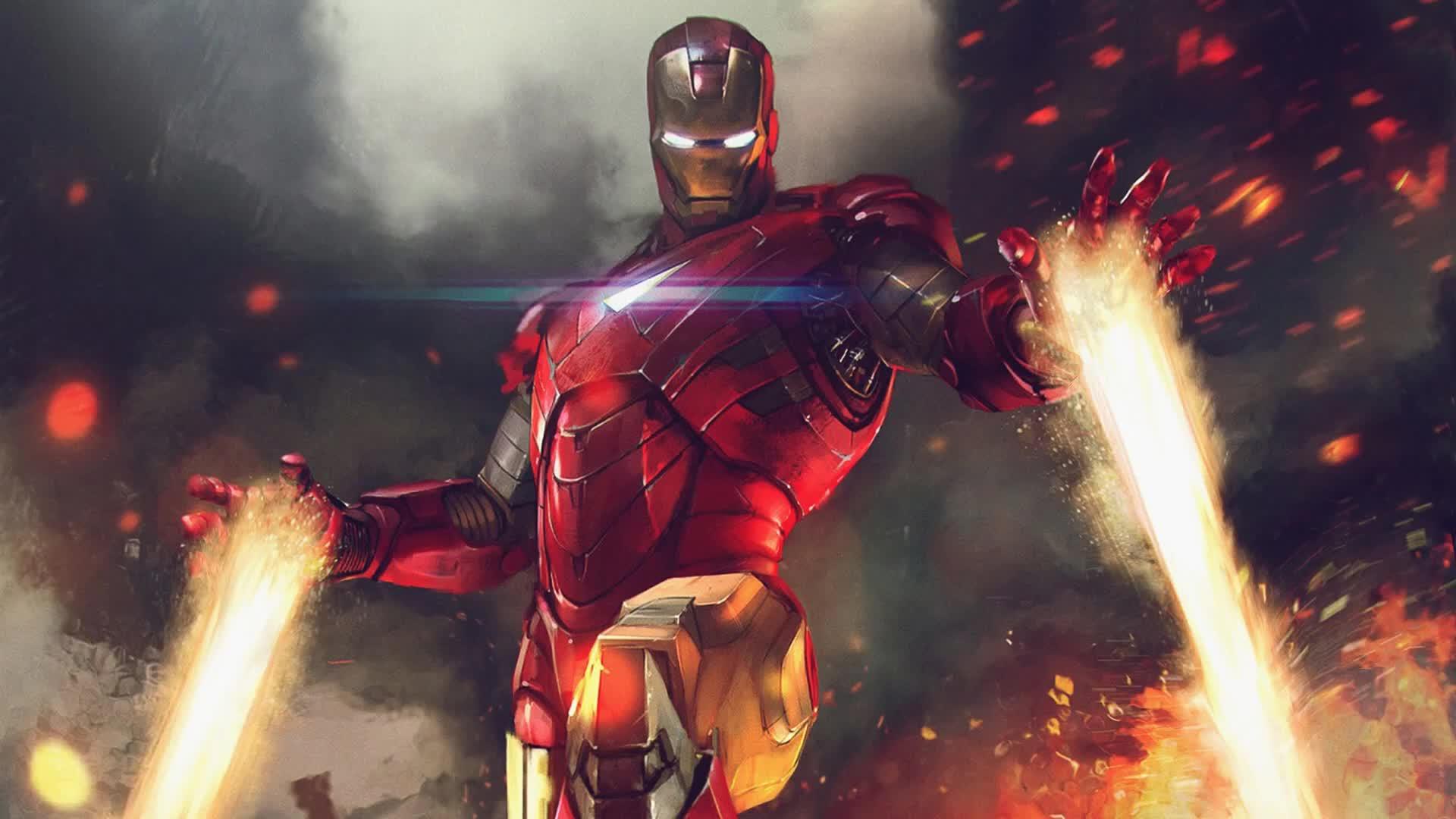 Iron Man Superheroes Marvel War Of Heroes Live Wallpaper - Every Journey Has An End Iron Man - HD Wallpaper
