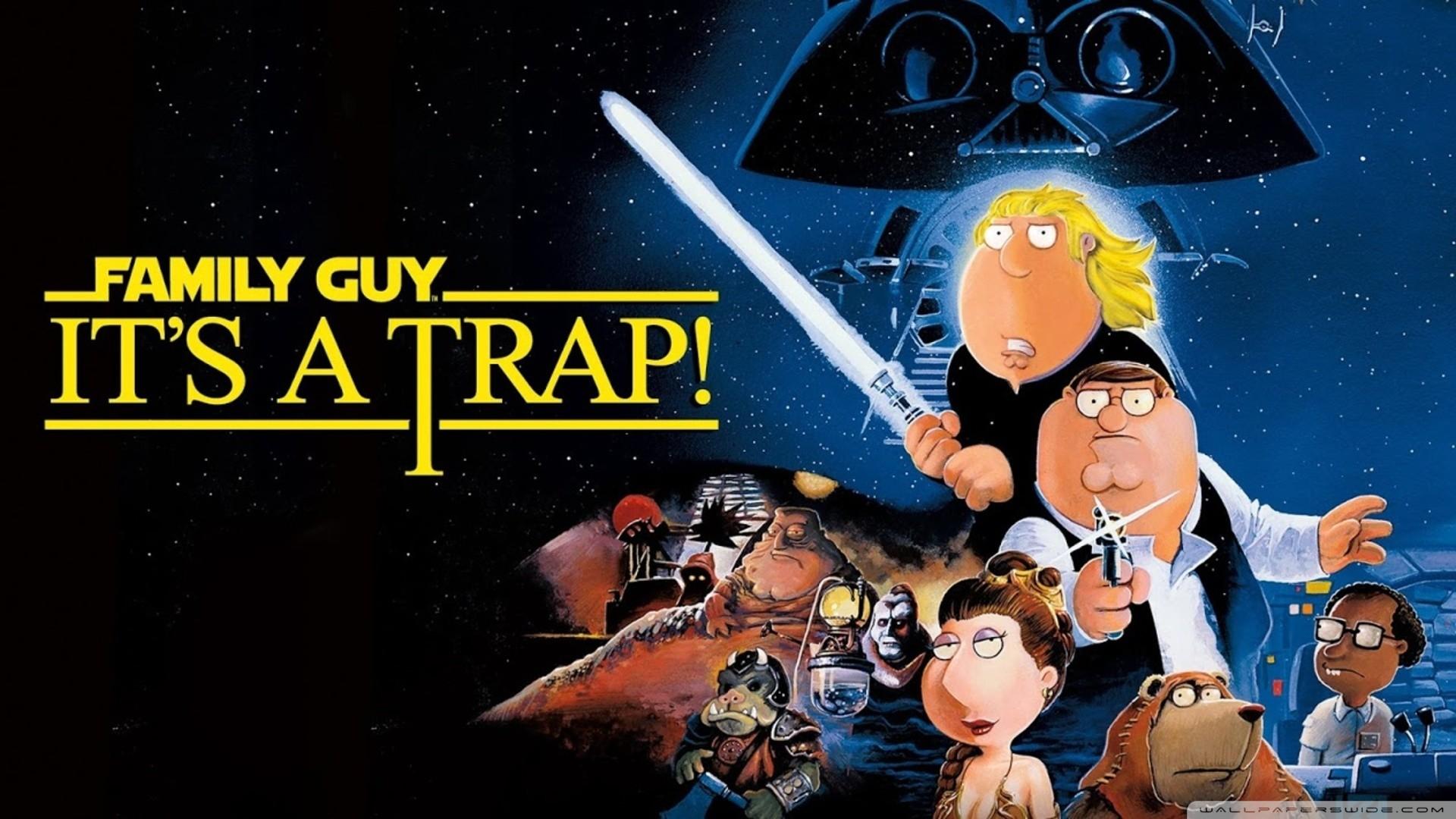 Mobile Data Src Download Family Guy Star Wars Wallpaper 1920x1080 Wallpaper Teahub Io