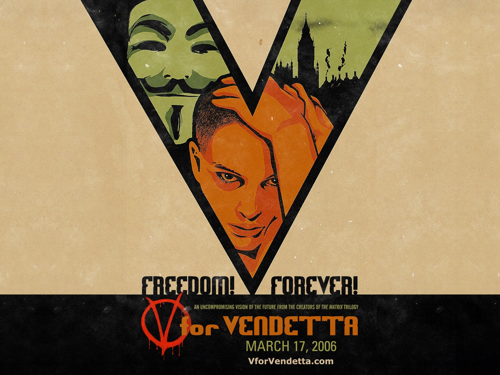V For Vendetta 2006 1600x1200 Wallpaper Teahub Io