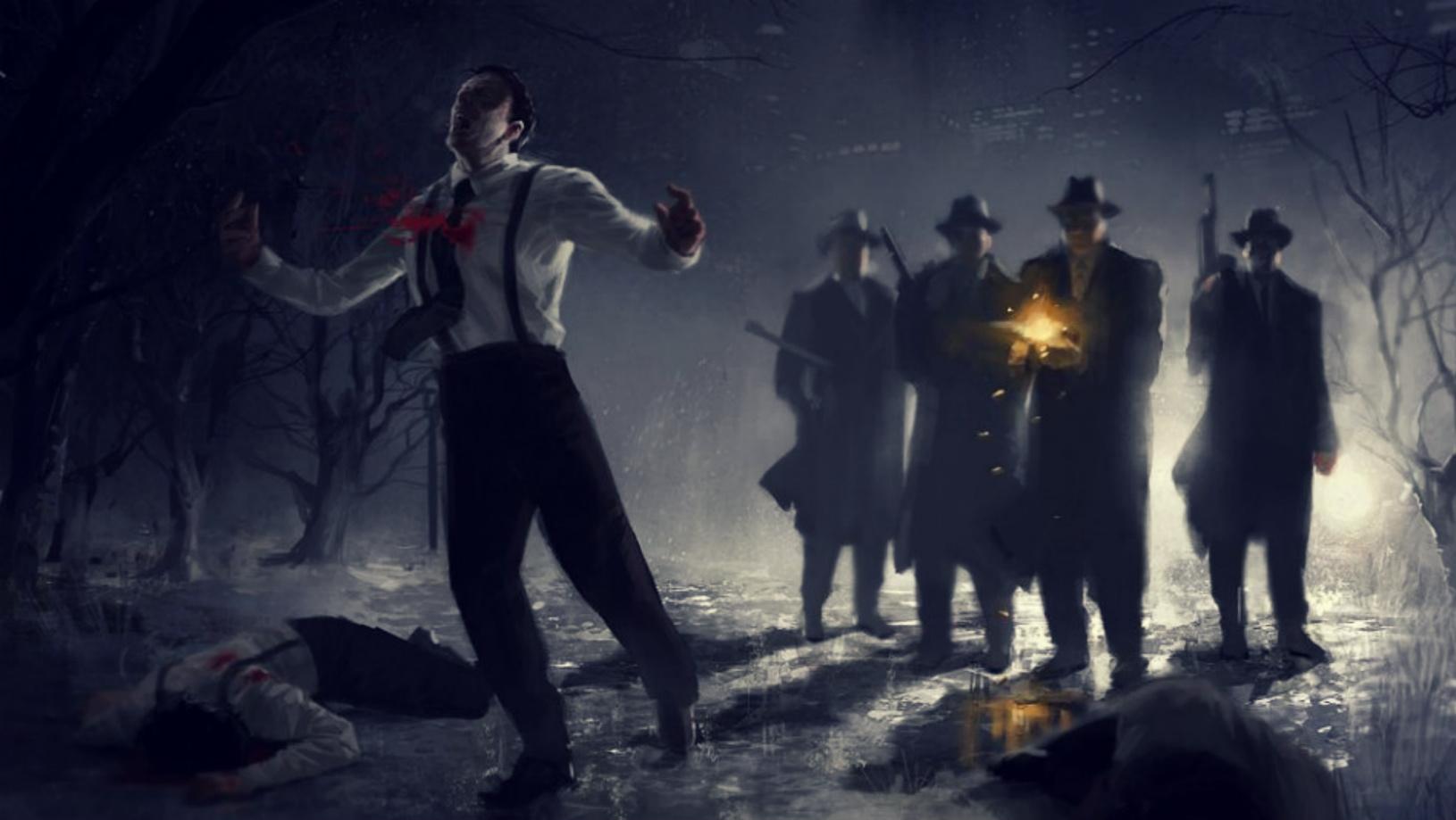 Godfather Five Families Art - HD Wallpaper