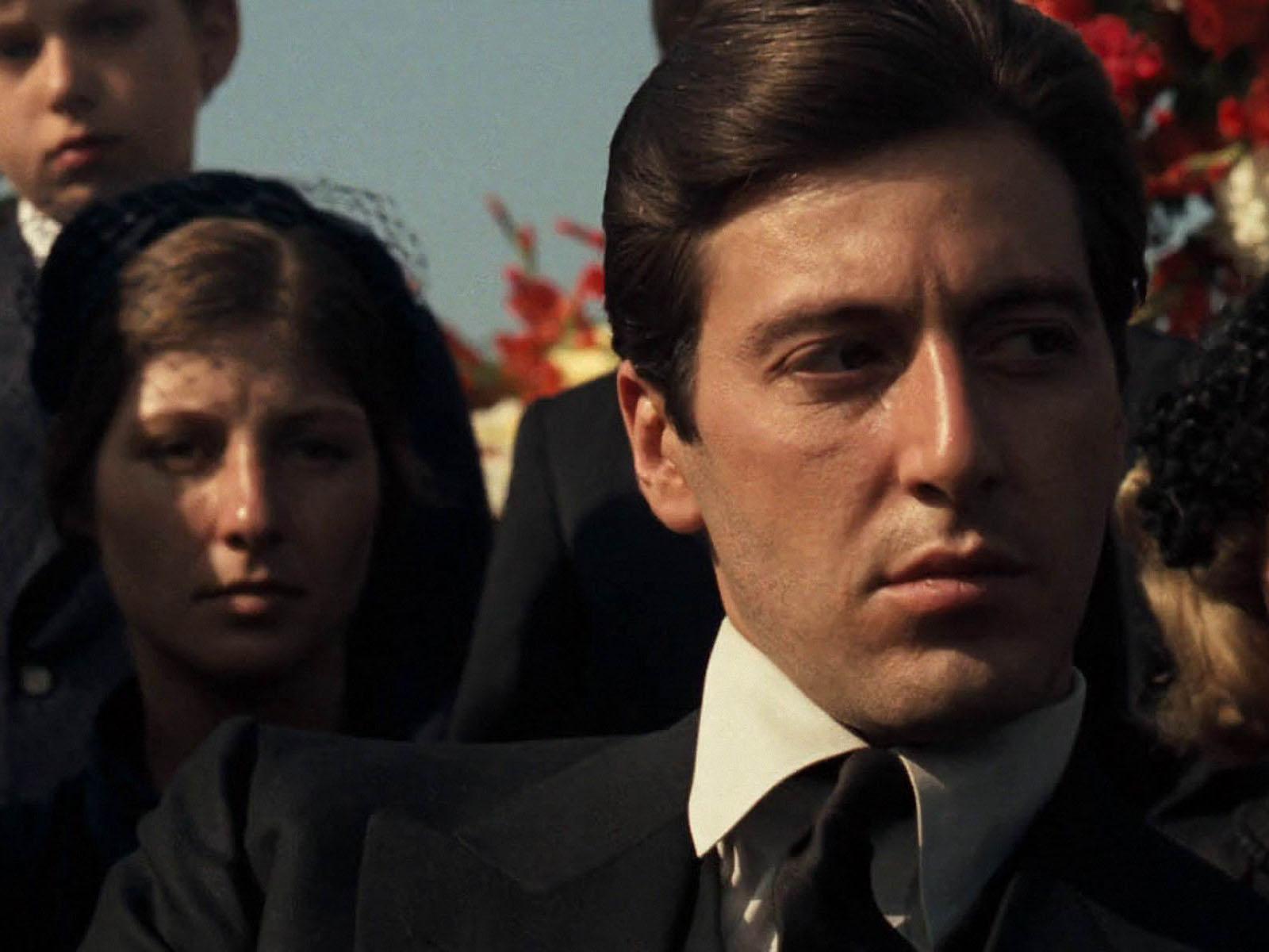 Godfather Wallpaper / Movie Hd Backgrounds - Godfather Part 1 Al Pacino - HD Wallpaper