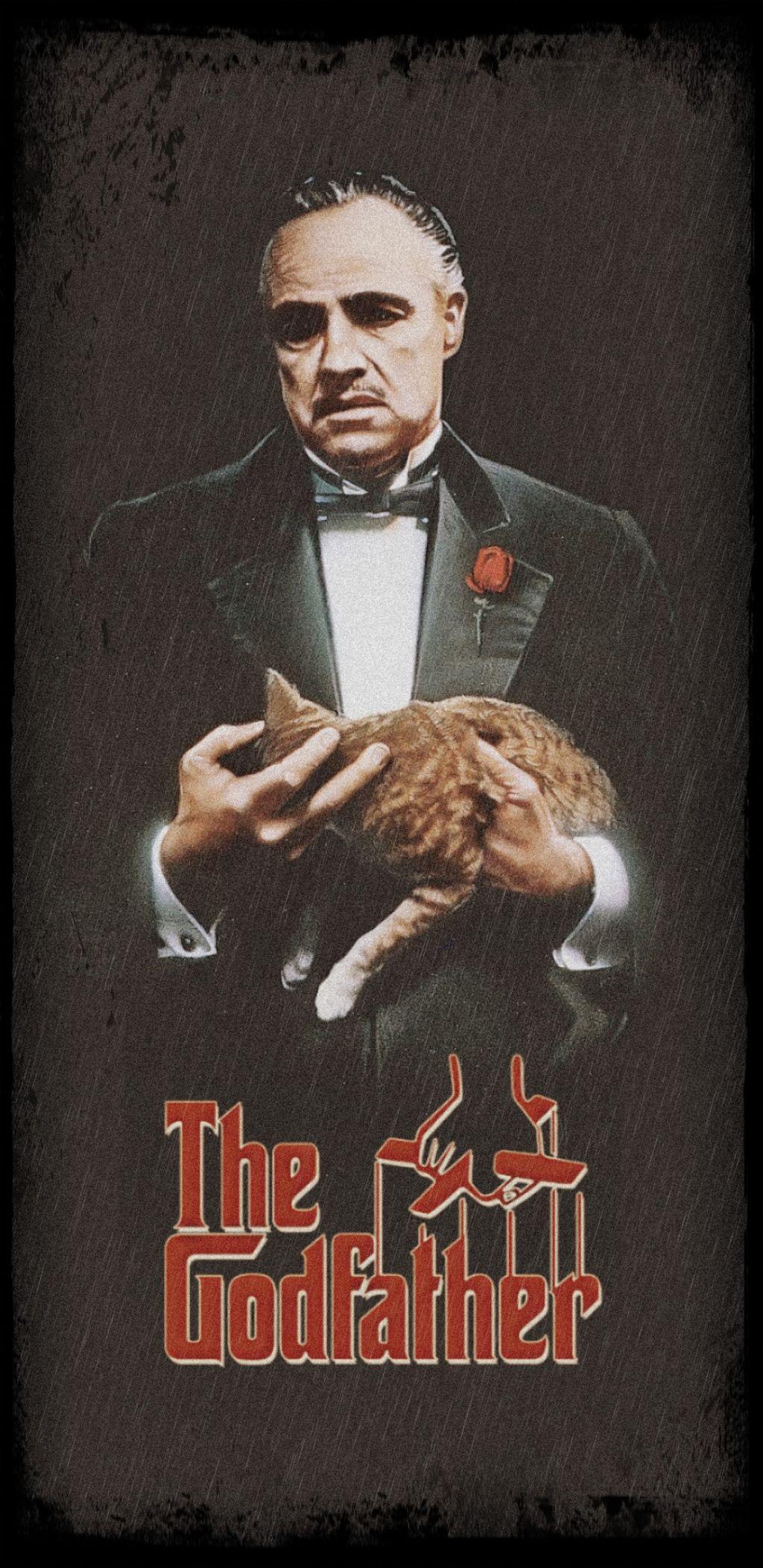 #vito #corleone #godfather #wallpaper #picsart - Stop Crying Be A Man Godfather - HD Wallpaper
