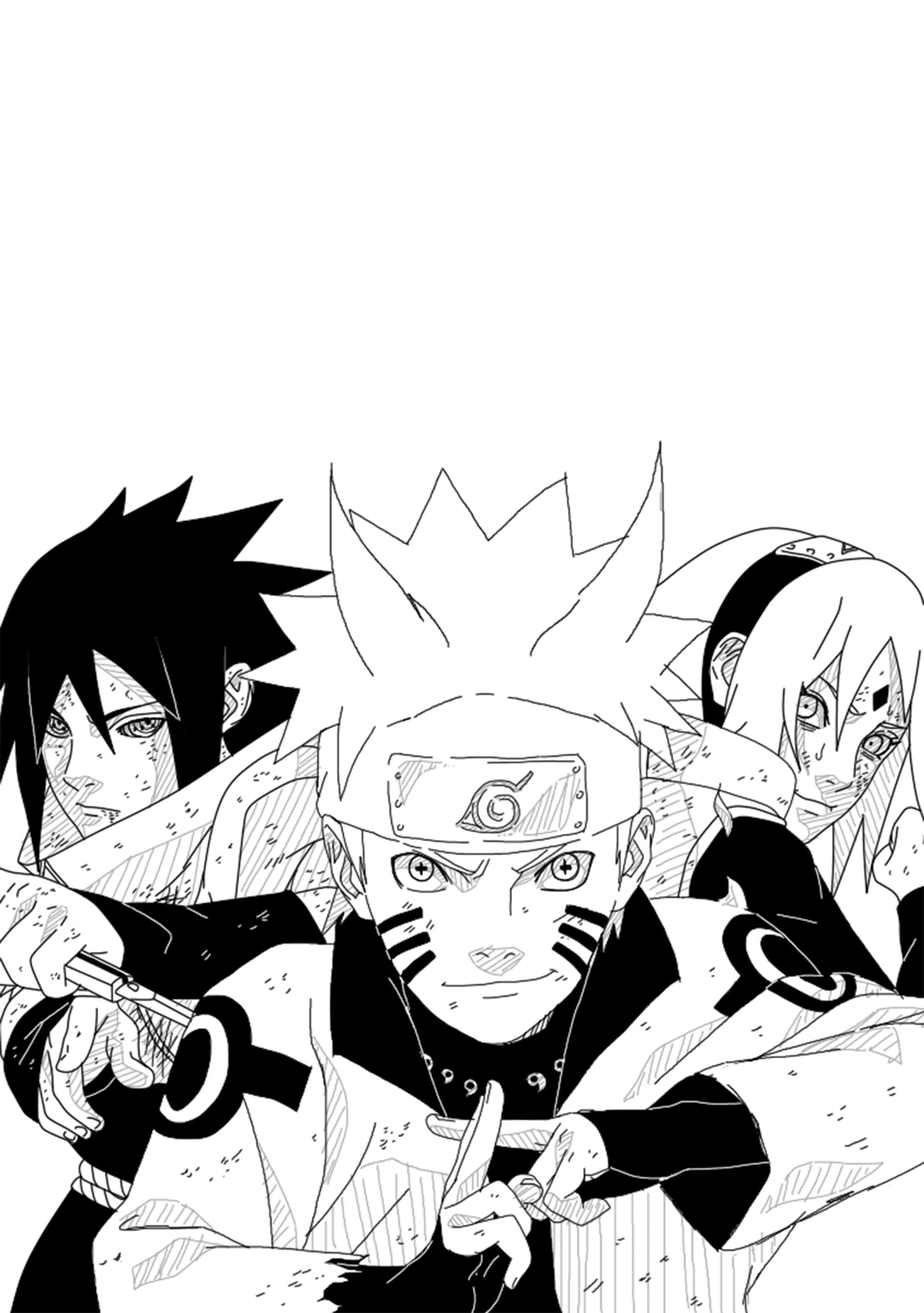 Naruto Manga Wallpaper Iphone 2000x2841 Wallpaper Teahub Io