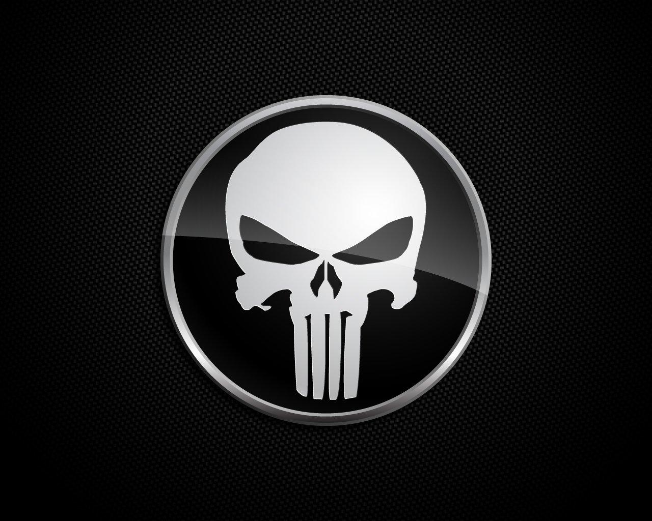 Punisher Skull - HD Wallpaper