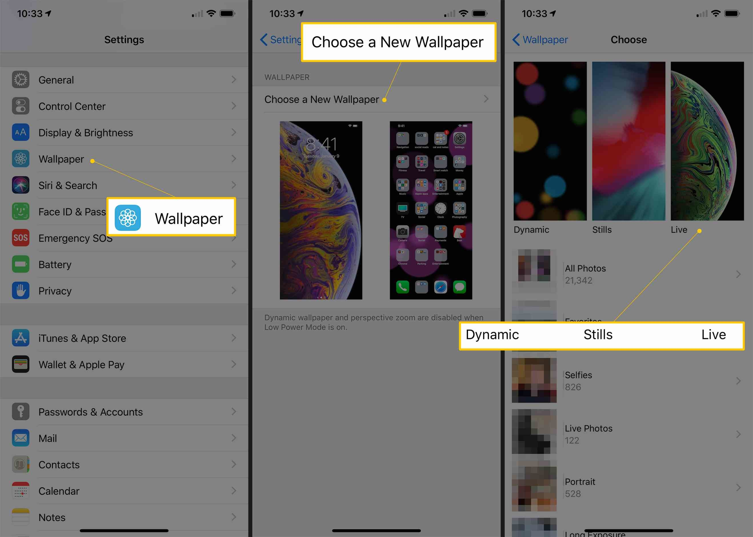 How To Set Live Wallpapers And Dynamic Wallpapers On - Live Photos 壁紙 設定 - HD Wallpaper
