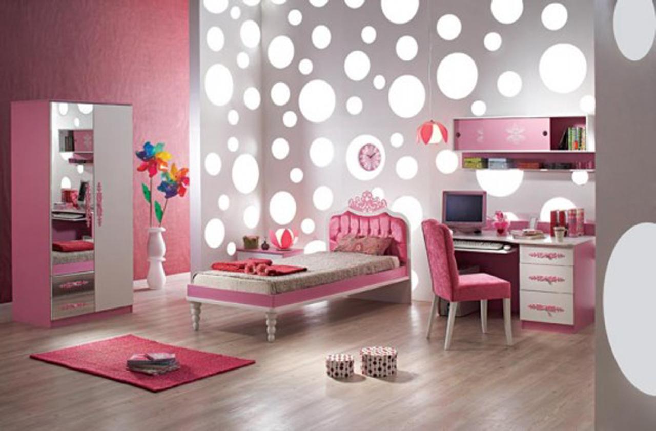 Bedroom Sweet Cool Paint Pleasing Bedroom Paint And - Modern Girls Bedroom Ideas - HD Wallpaper