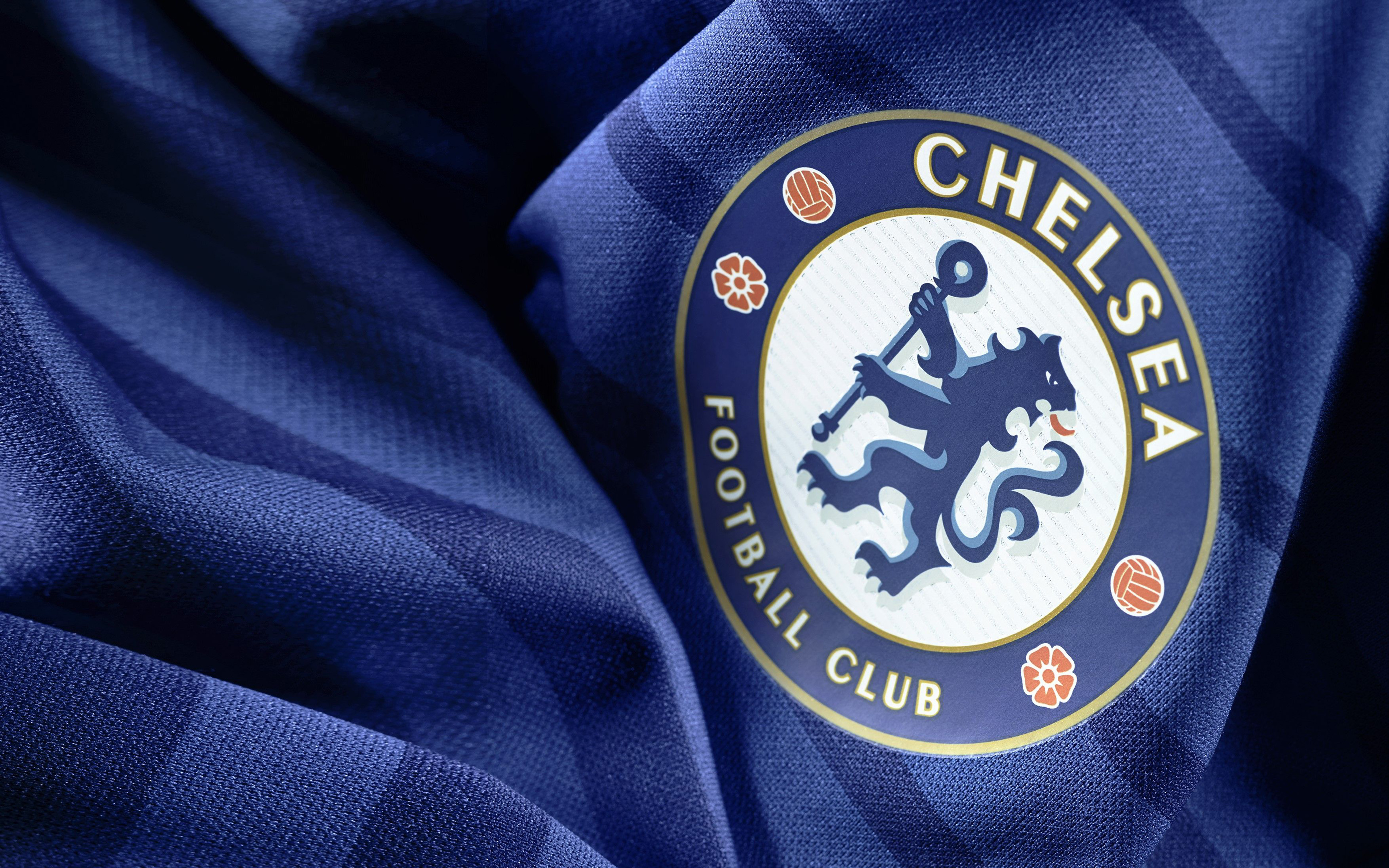 Chelsea Fc 4k Emblem English Football Club Premier Chelsea Logo Wallpaper 4k 3840x2400 Wallpaper Teahub Io