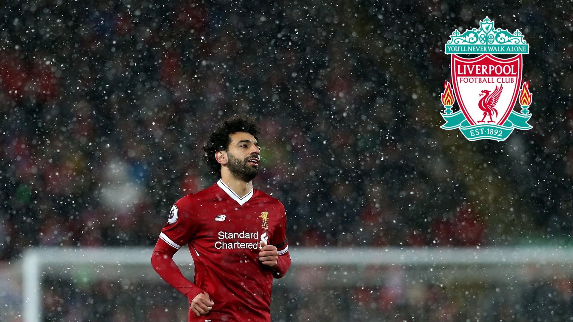 Mohamed Salah Liverpool Desktop Wallpaper With Image - Liverpool Desktop Wallpaper In Hd - HD Wallpaper