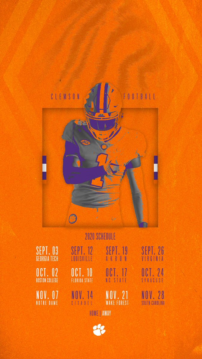 50 Clemson Football Schedule Wallpaper On Wallpapersafari