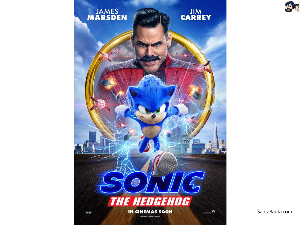 Sonic The Hedgehog Sonic The Hedgehog 2020 1024x768 Wallpaper Teahub Io