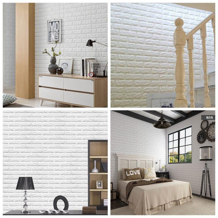 3d Wall Panels Brick - HD Wallpaper