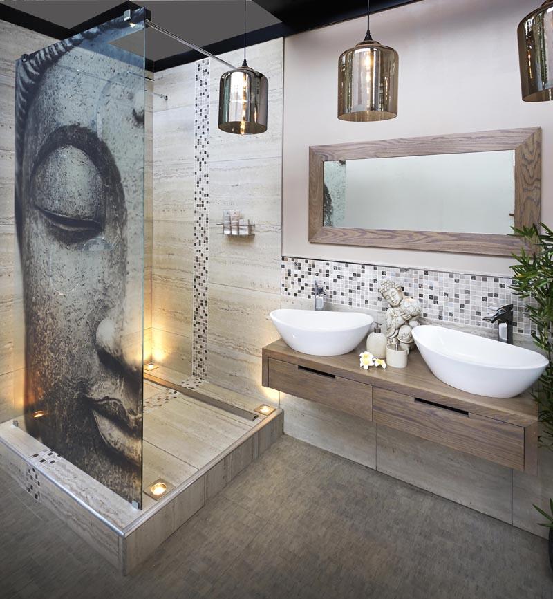 Wallpaper Trends For Bathrooms Astonishing 14 Dzbc - Bathroom Design Latest Trends - HD Wallpaper