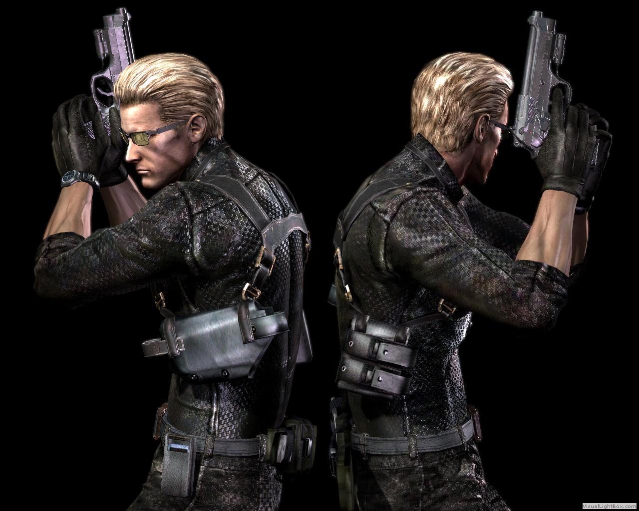 Wesker Resident Evil V 1280x1024 Wallpaper Teahub Io