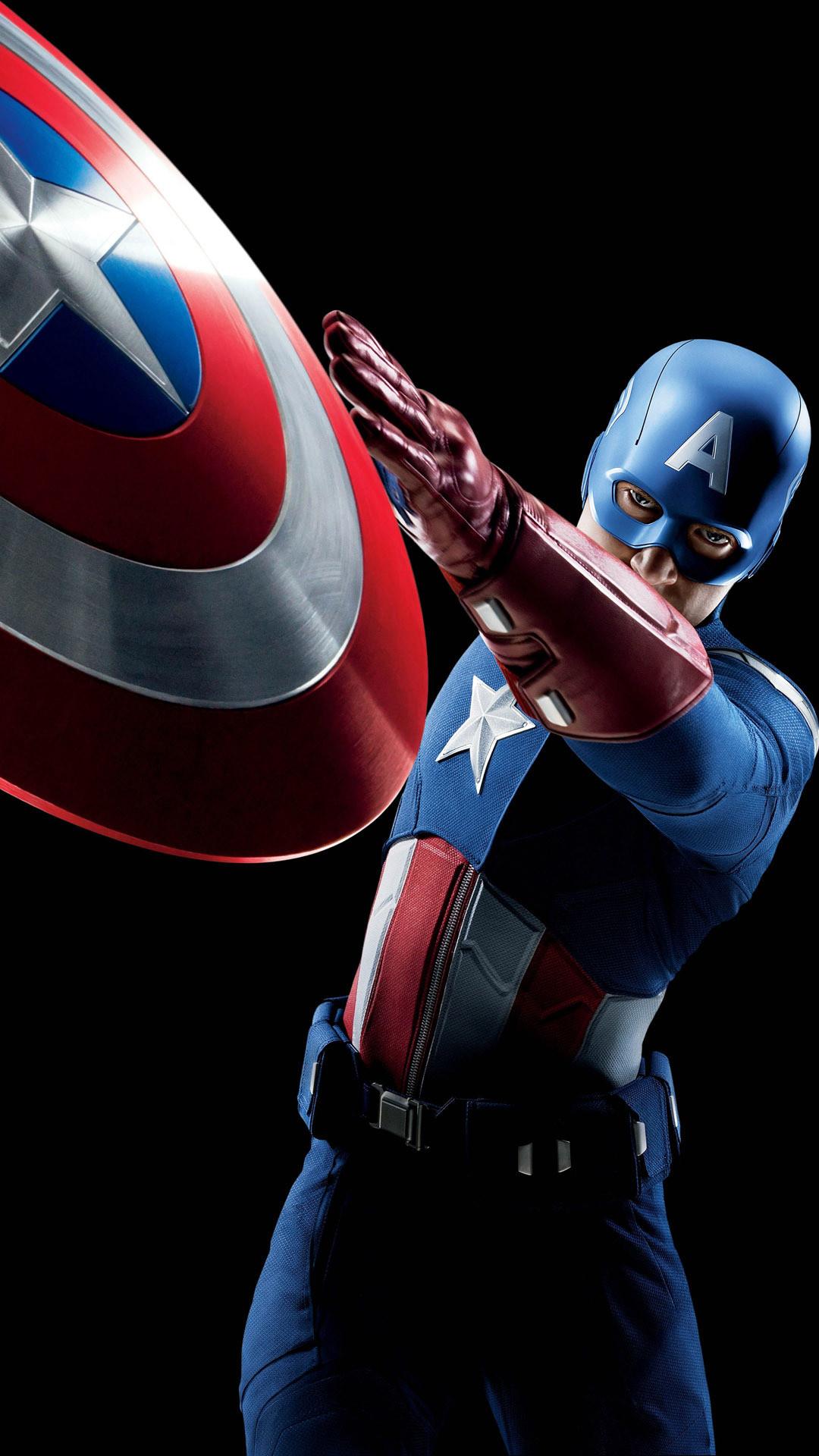 1080x1920 Captain Americmovie Mobile Wallpaper Captain America Wallpaper For Phone 1080x1920 Wallpaper Teahub Io