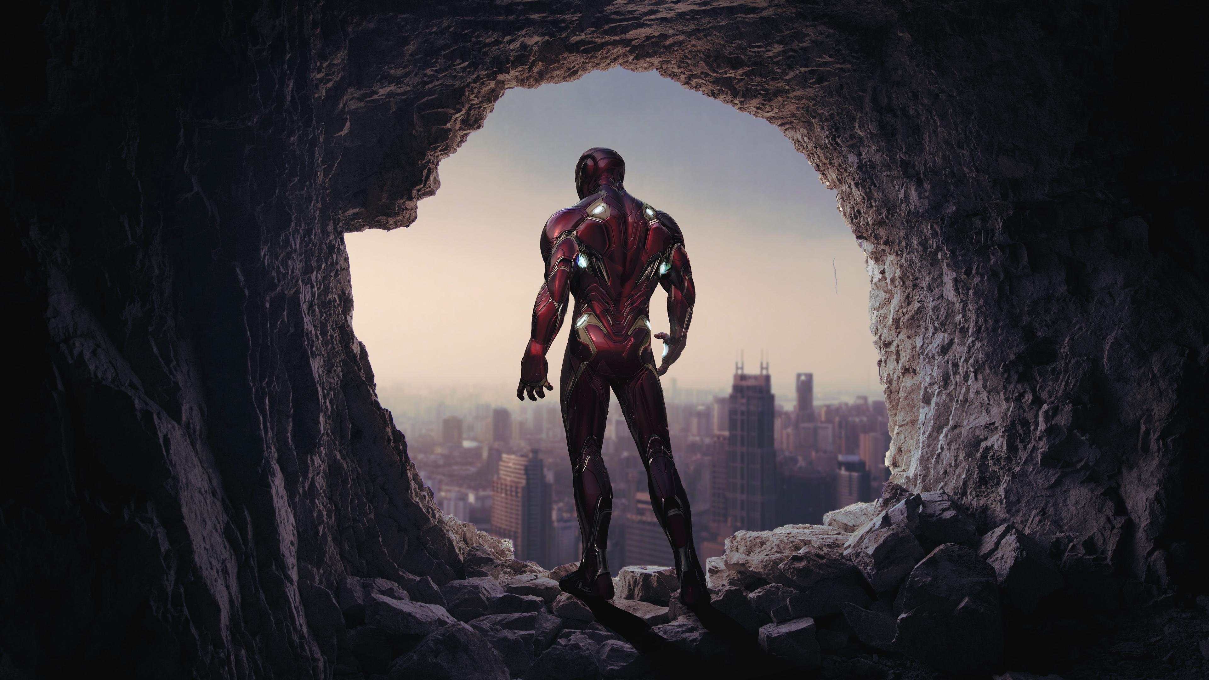 Iron Man Avengers Endgame 4k 2019 Iron Man Wallpaper 4k 3840x2160 Wallpaper Teahub Io
