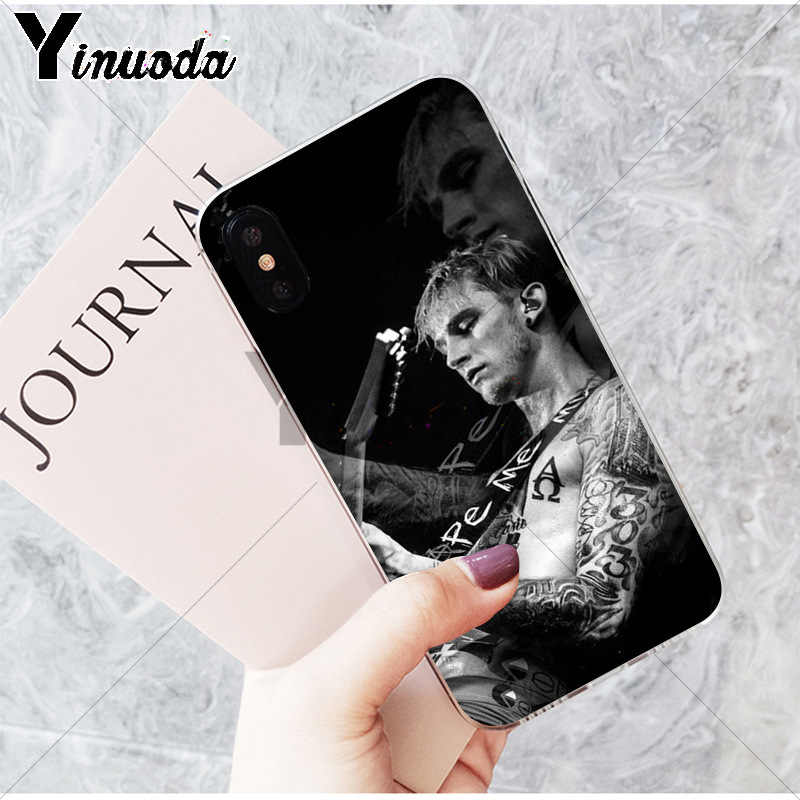 Yinuoda Mgk Machine Gun Kelly Lace Up Tpu Soft Phone - Iphone 101 Dalmatians Case - HD Wallpaper