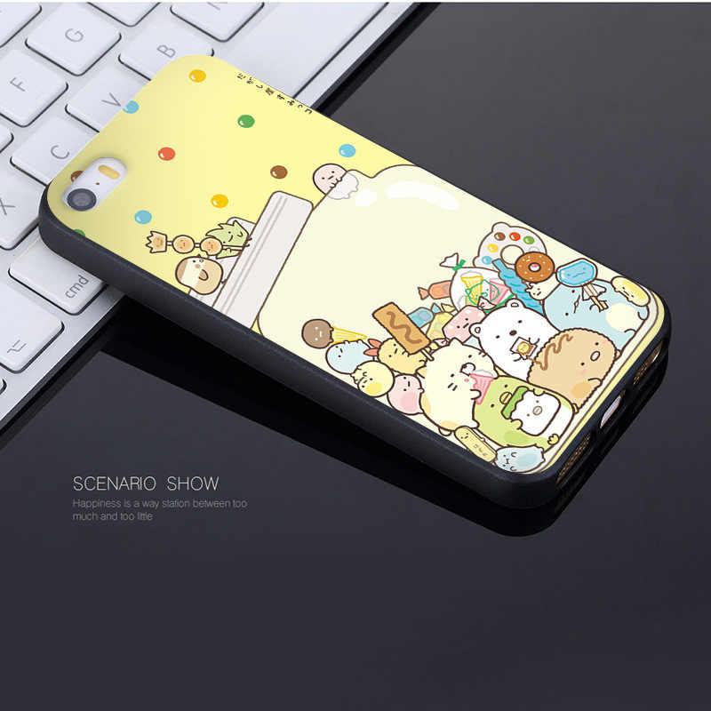 Maiyaca For Iphone 7 6 X Sumikko Gurashi Art Rilakkuma - Mobile Phone - HD Wallpaper