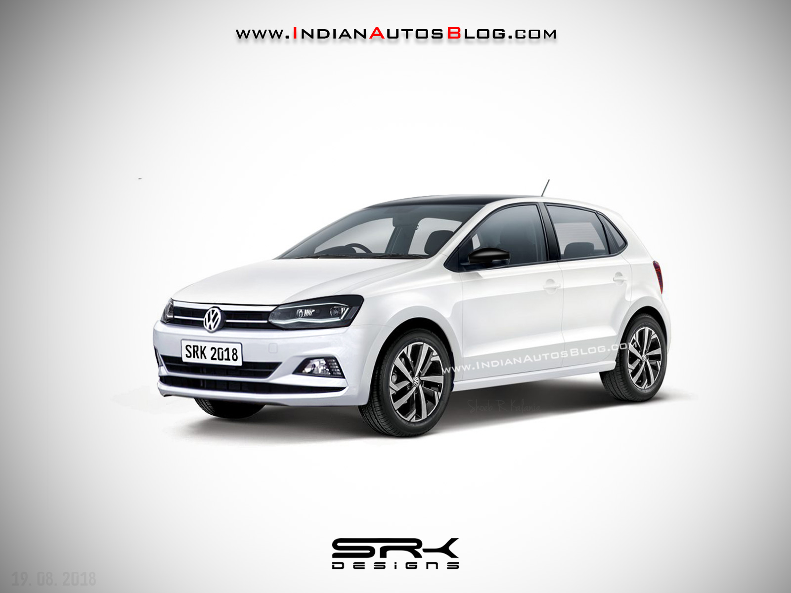 2019 Volkswagen Polo Facelift Rendering Images Polo Gt Tsi 2019 1600x1200 Wallpaper Teahub Io