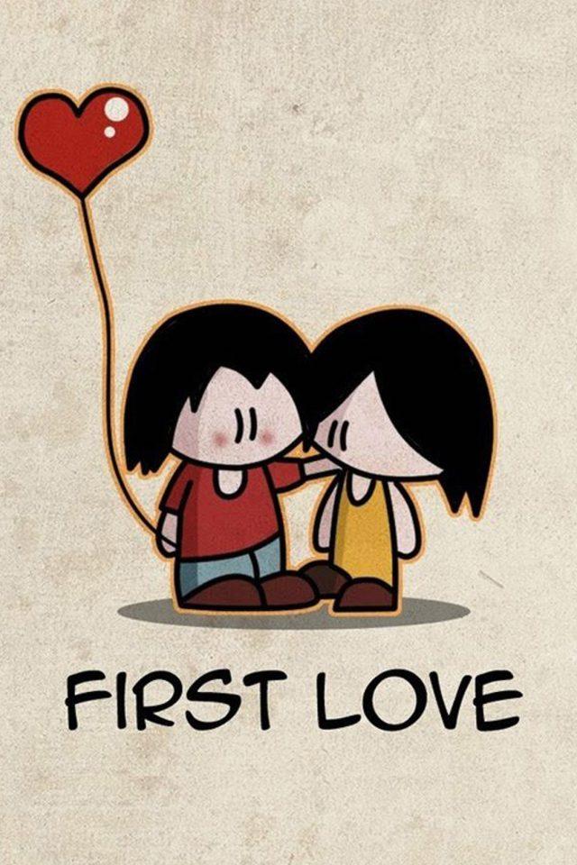 First Love Hu Iphone Wallpaper - Lock Screen Hd Wallpaper Love - HD Wallpaper