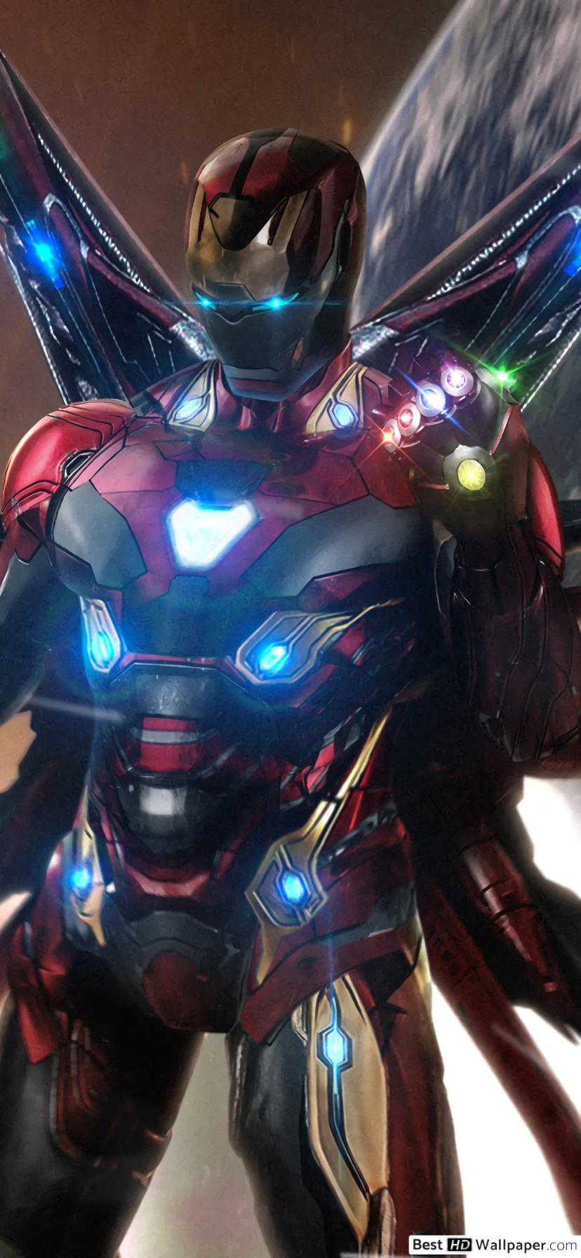 Iron Man Wallpaper 4k For Mobile - HD Wallpaper