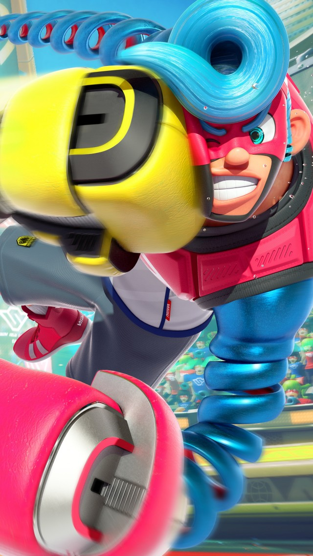 Arms, Fighting, Best Games, Nintendo Switch - Best Wallpaper Nintendo Switch - HD Wallpaper