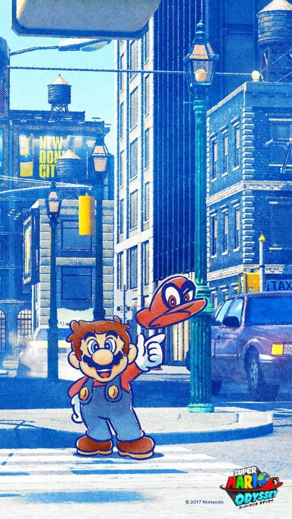Super Mario Odyssey Wallpaper Iphone 576x1024 Wallpaper Teahub Io