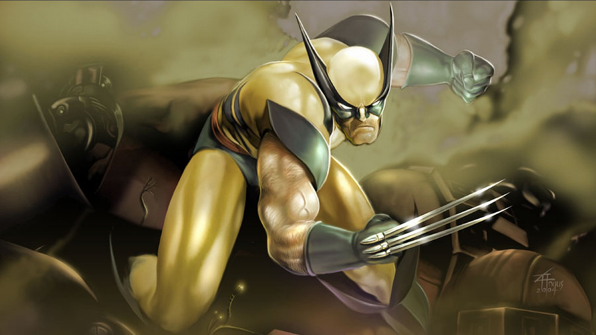 Awesome Wolverine Free Wallpaper Id - Imagens De Wolverine Full Hd - HD Wallpaper
