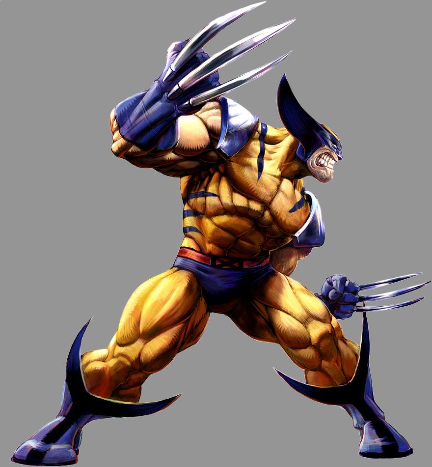 Marvel Wolverine Clipart Marvel Vs Capcom 2 Png 880x950 Wallpaper Teahub Io