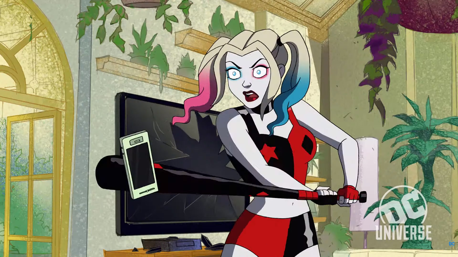 Harley Quinn Animated Series 1920x1080 Wallpaper Teahub Io